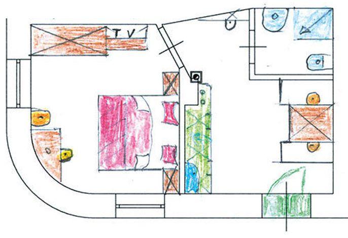 Willkommen im Haus Santner in Völs am Schlern. Die geeignete Unterkunft für Bergsteiger und Familien mit Babys. 4 renovierte Ferienwohnungen, 5 Gehminuten zum Dorfzentrum und zur Haltestelle des Busses nach Tiers am Rosengarten und Bozen entfernt. Parkpla
