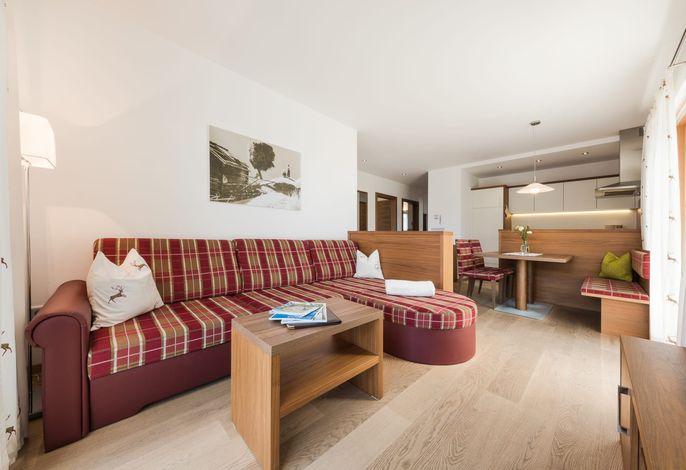 Unsere Ferienwohnungen in der ganzjährig geöffneten Residence Gruberhof****