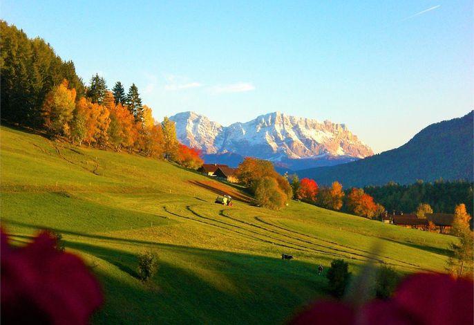 Herbstaussicht