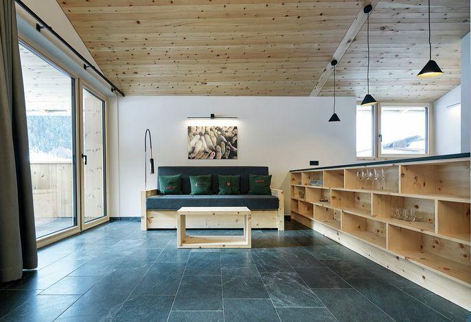 Das Ferienhaus Andrien in Schlinig