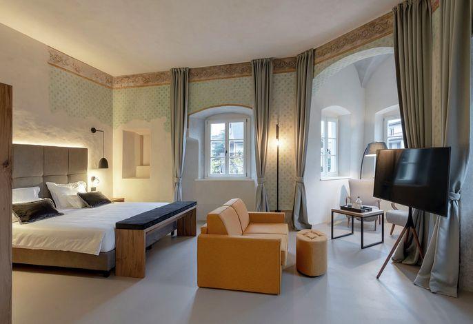 Ein märchenhaftes Gästehaus in der Altstadt von Bozen