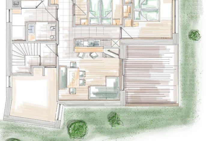 Wohnung Garten