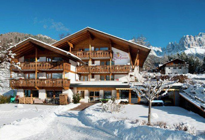 Hotel Stefaner im Winter