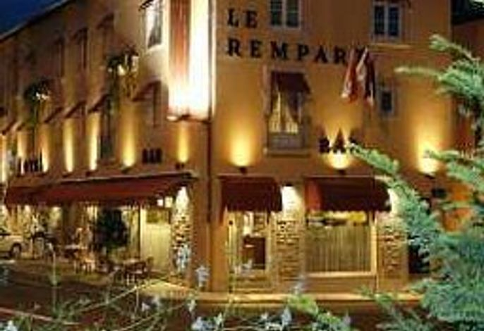 Tournus  Hôtel Le Rempart The Originals Boutique (ex Qualys-Hotel)