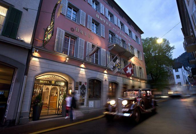 Hotel Stern Chur swiss historic