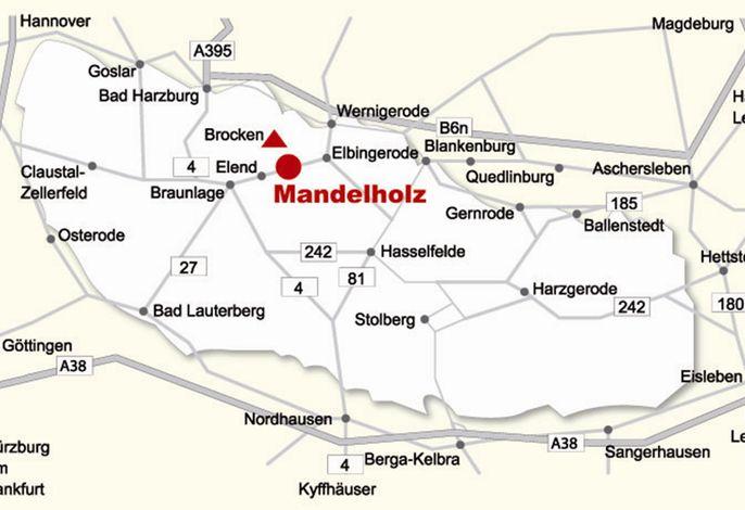 Grüne Tanne Mandelholz