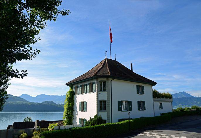 Jagd-Schloss Swiss-Chalet Merlischachen