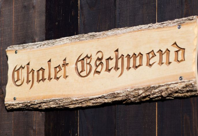 Chalet Gschwend