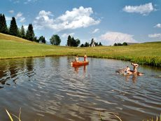 Spaß am Teich