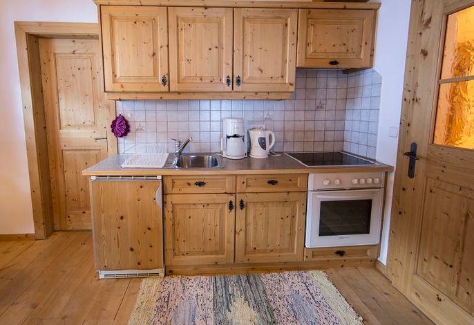 Steinwand Küche