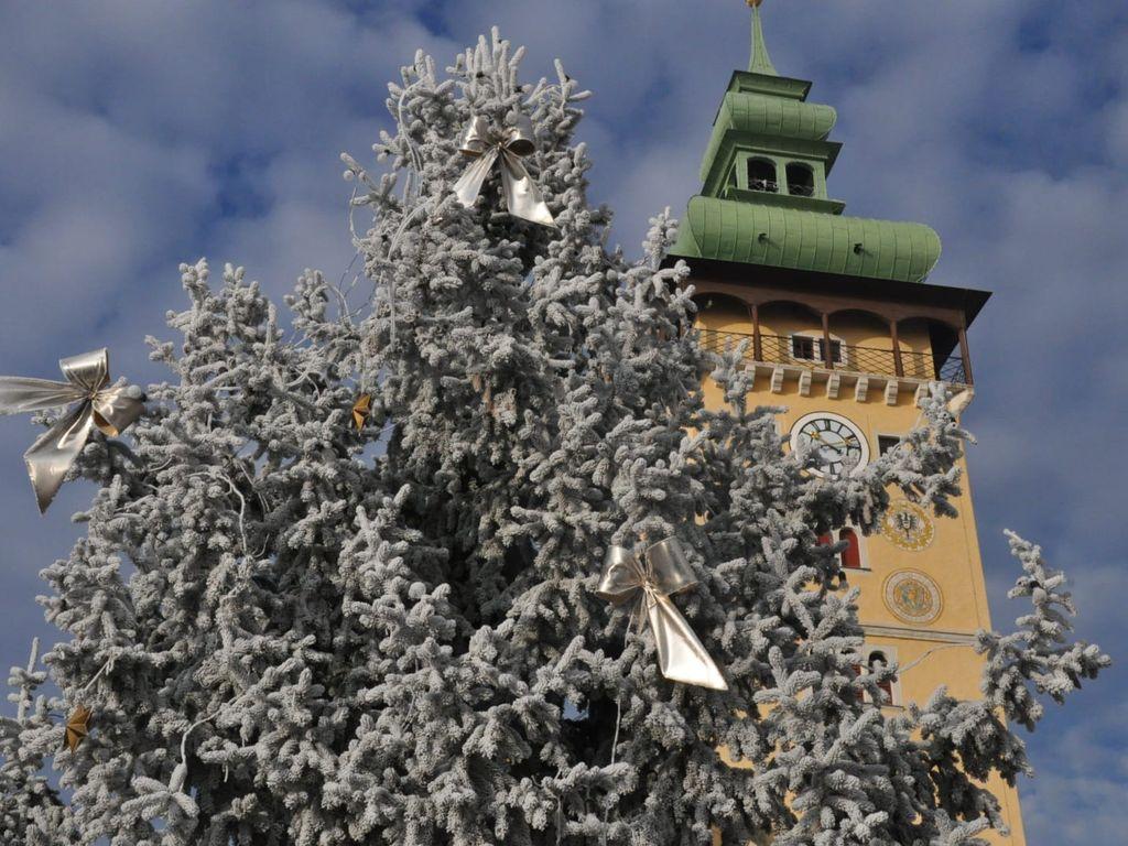 Winter in Retz, Rathaus