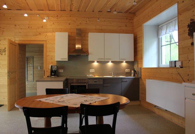 Zum alten Forsthaus - Blick in die Küche