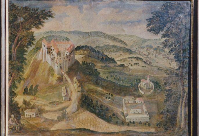 Zum alten Forsthaus - historische Darstellung