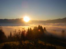 Sonnenaufgang im Kurzeck