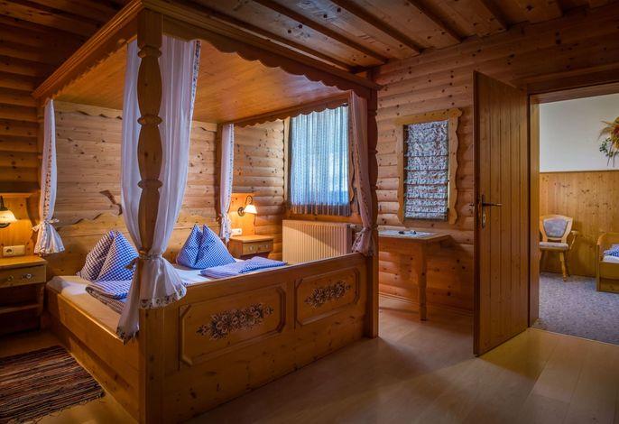 Die Hochrieß-Familienzimmer Himmelbett
