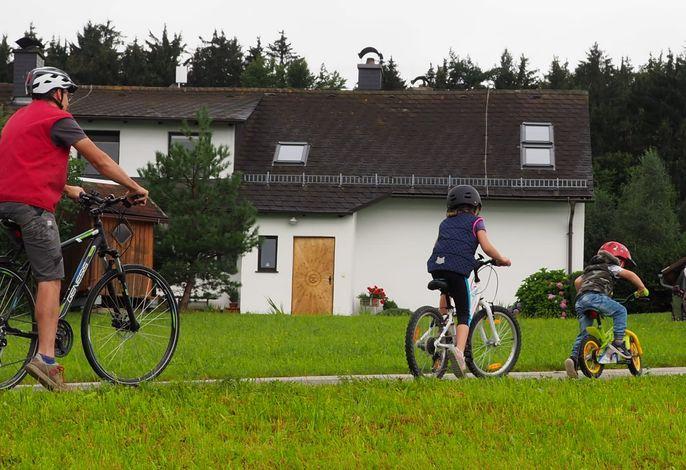 Mountainbike- Wege beginnen beim Haus