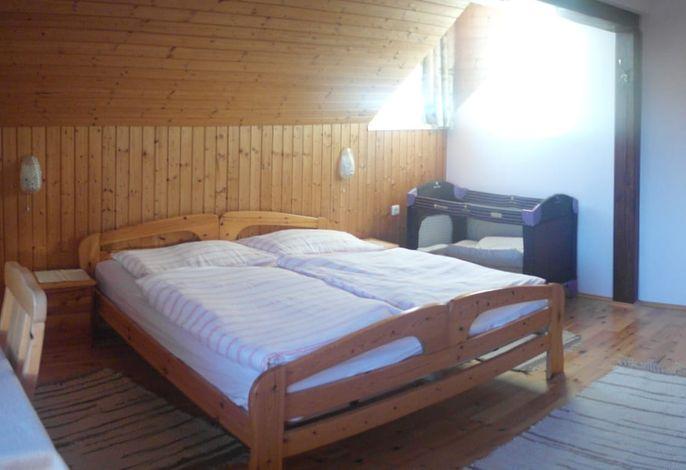 Talblick Doppelbett