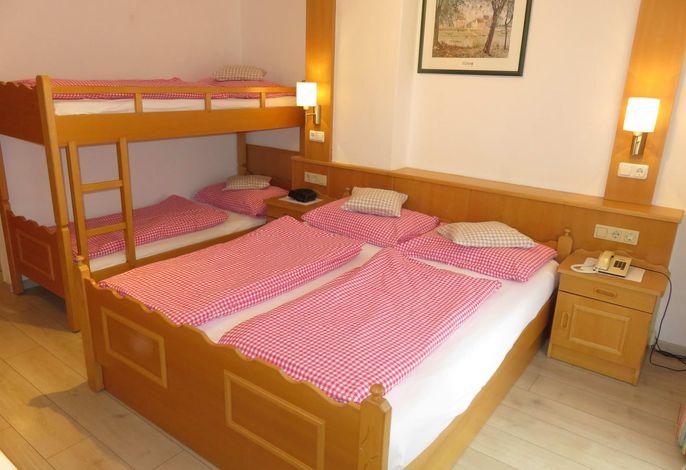Zimmer Löwenzahn Typ B - Doppelbettzimmer