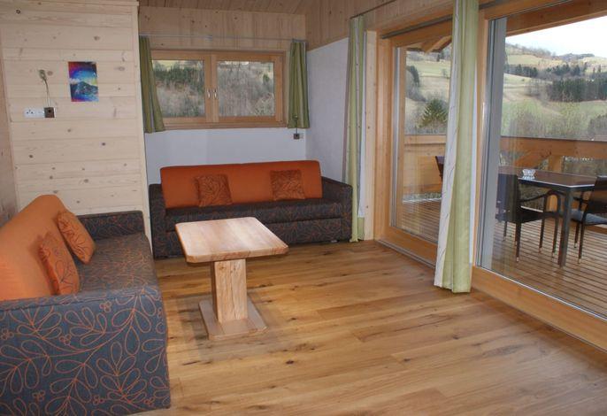 WALDESCHE - Wohn- oder Schlafzimmer mit Loggia OG