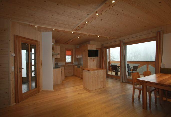 BERGULME - Wohnküche mit Loggia UG