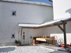 Ferienhaus von der Hofseite
