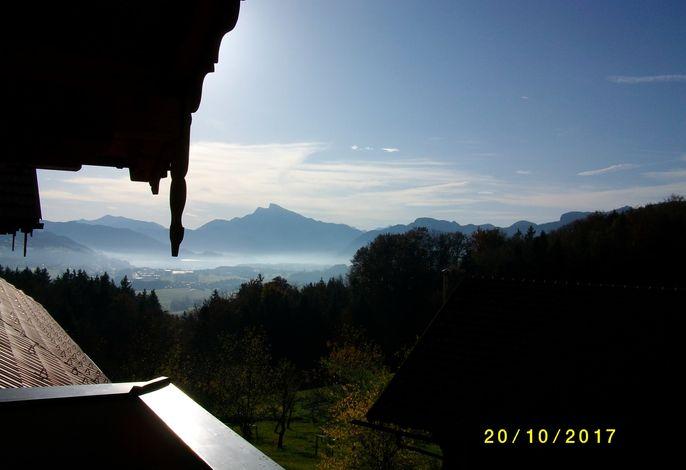 Fewo B - Blick vom Balkon
