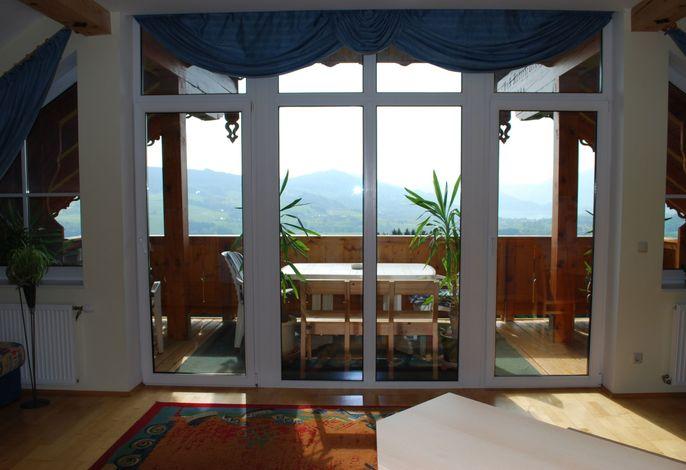 Balkon Blick Fewo A