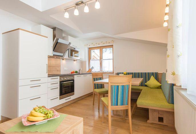 Appartement Stubnerblick - Wohnbereich, Küche