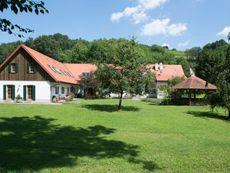 Kürbishof Gartner & Ferienhäuser im Weingarten Hohenbrugg-Weinberg