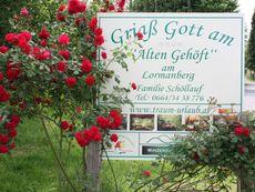 Griaß Gott am Alten Gehöft am Lormanberg