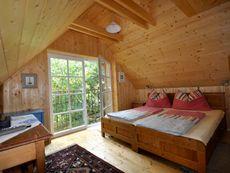 Schlafzimmer im Romantikstöckl