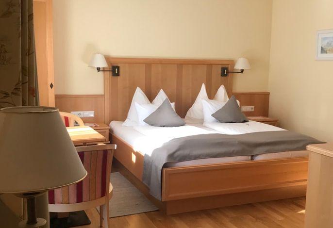Unsere Wohlfühlzimmer Komfort plus bieten genügend Platz um Abzuschalten