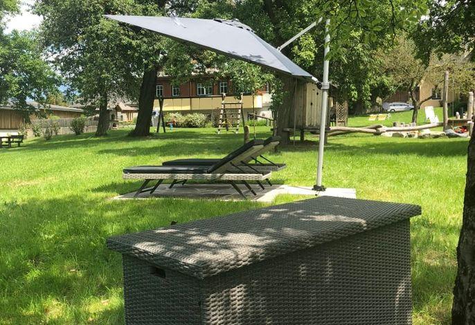 Unser Kraftplatzerl im Obstgarten - pure Entspannung
