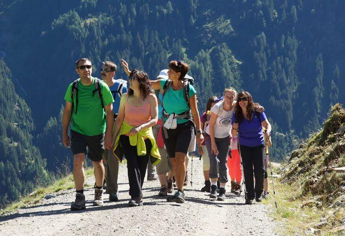 Wandern mit Birgit