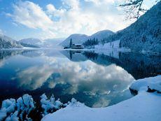 Pillersee im Winter