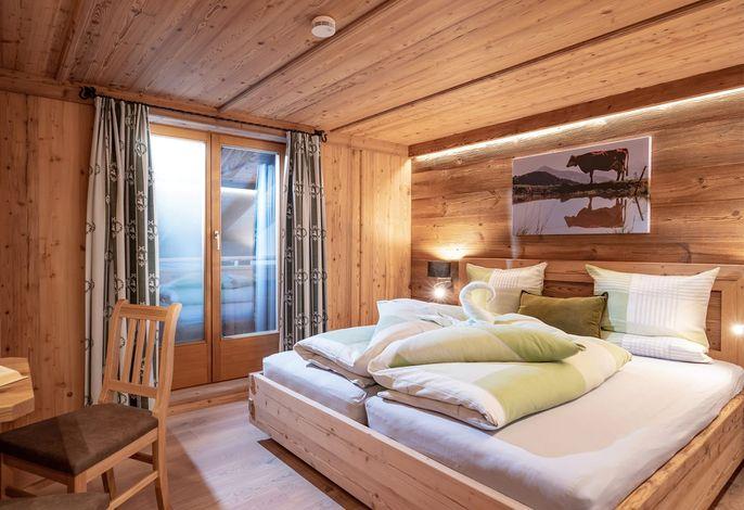 FeWo Alpenrose Schlafzimmer