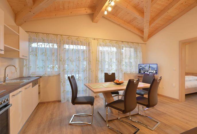 Küche Wohnung Alpenrose