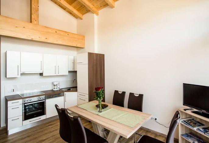 Küche Wohnung Bergblume