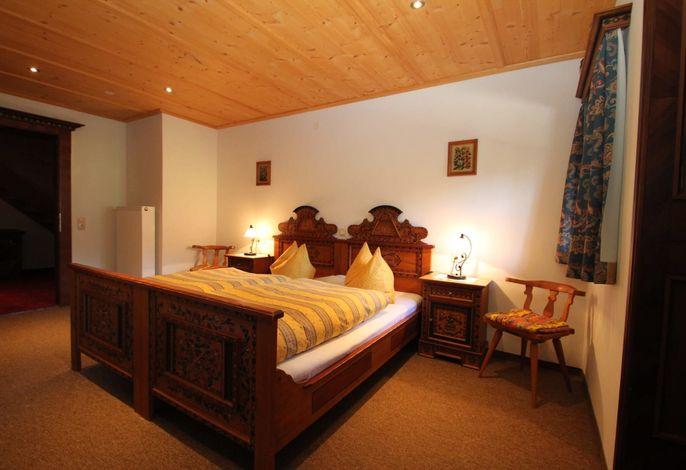 Doppelbett Ferienwohnung Schatzberg