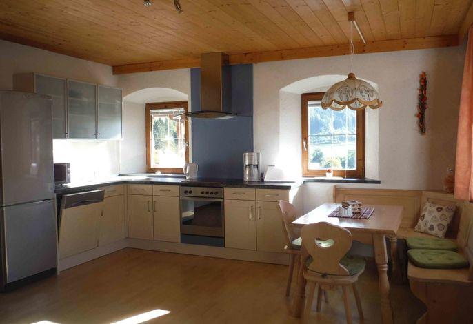 Küchenblock und Essecke