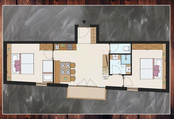 Apartment 12 Grundriss