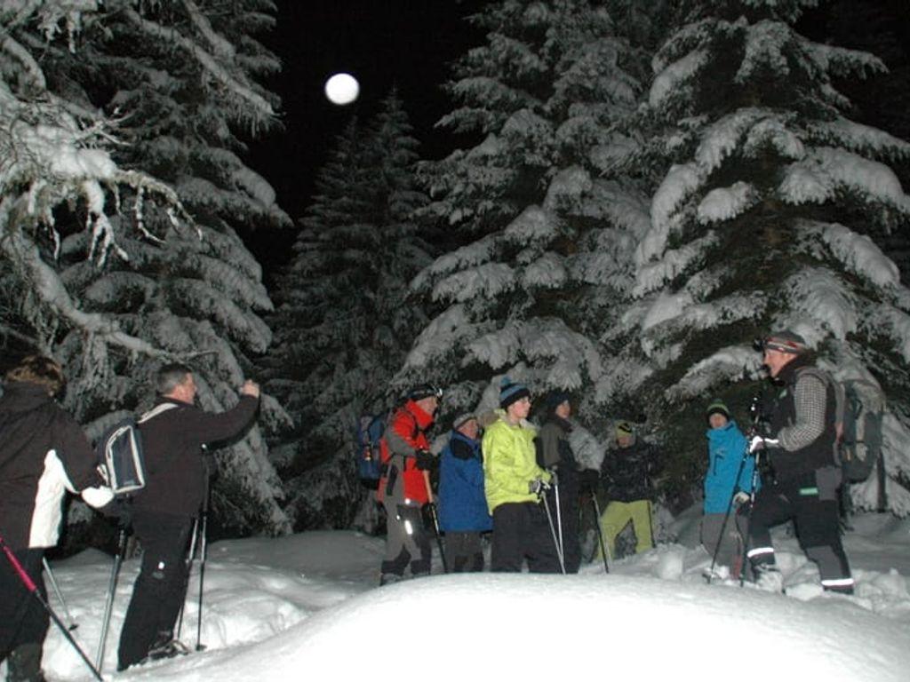 Schneeschuhwandern mit Nationalparkrangern