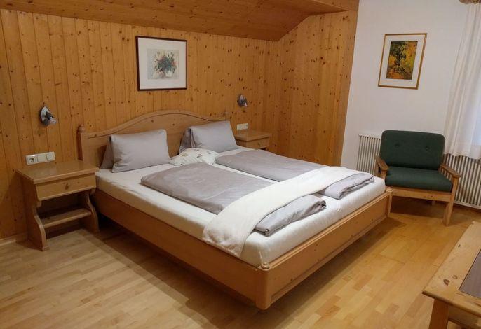 Schlafzimmer Dolomitenblick