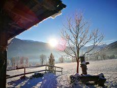 Landschaft Winter
