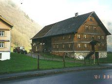 Neubau Stallgebäude 2001