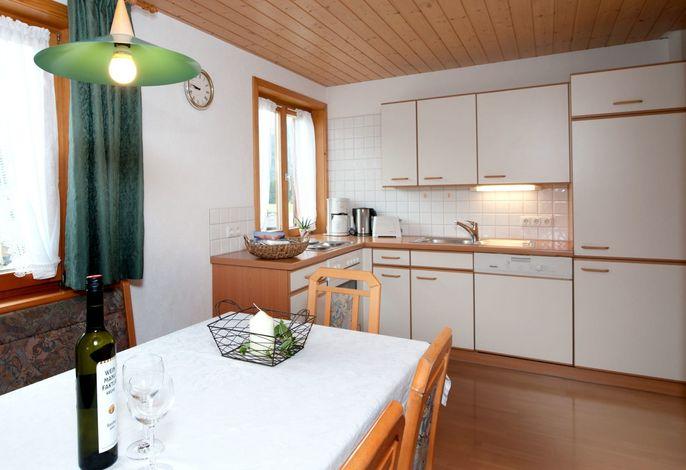 Küche und Essbereich Wohnung 1