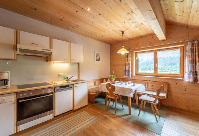 Ferienwohnung Bergulme - Wohnbereich