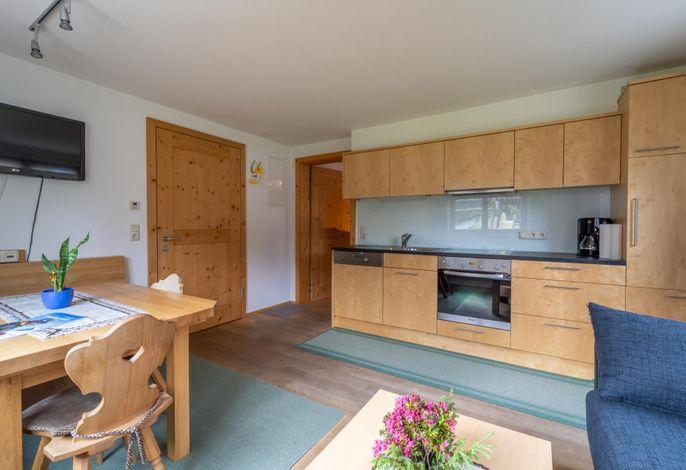 Ferienwohnung Birke - Wohnküche