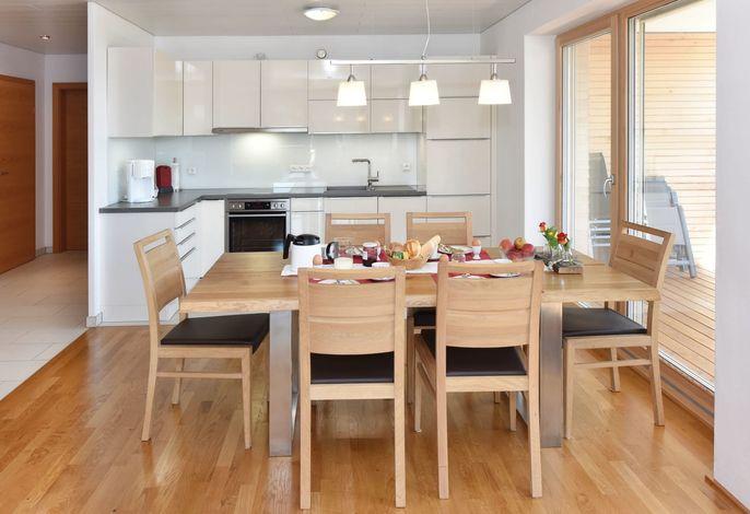 Wohnung Ifenblick - Wohnküche