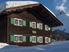 Sandbur, Das Walserhaus Lech am Arlberg